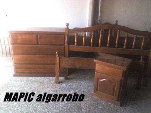 Mapic algarrobo muebles de raza ypara siempre!!! en Capital Federal
