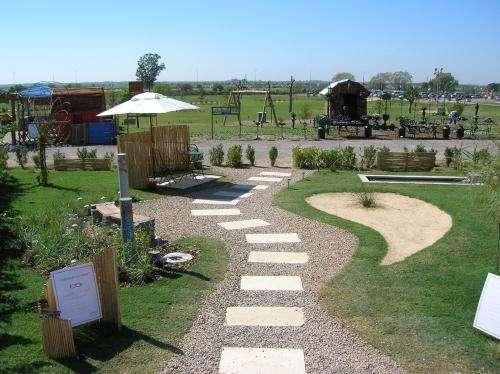 Fotos de paisajismo dise o paisajistico jardineria - Diseno patios ...
