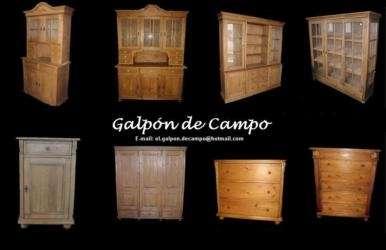Fotos de muebles estilo campo buenos aires muebles for Muebles estilo nordico argentina