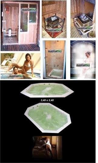 Imagenes De Baño De Vapor:Fotos de Saunas-Baños de vapor-Hidromasajes-Duchas escocesas-Fabrica