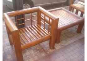 Muebles De Troncos Arenzon Maderas Capital Federal