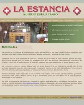 La Estancia Fabrica De Muebles Estilo Campo Estilo Caroldoey