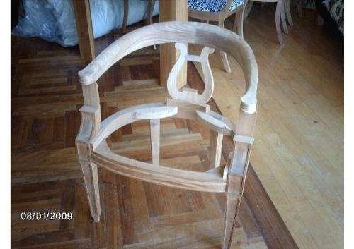 Fotos de fabrica de esqueletos de madera para tapizar o for Tapizar sillas de madera