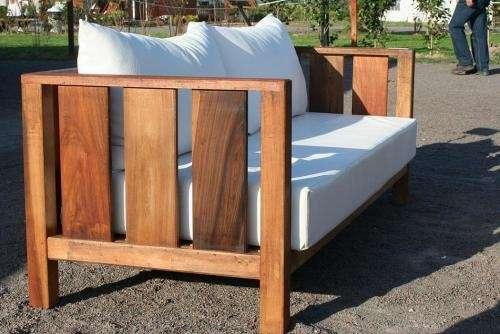 Fotos de muebles de jardin sillones camastros mesa for Camastros para jardin