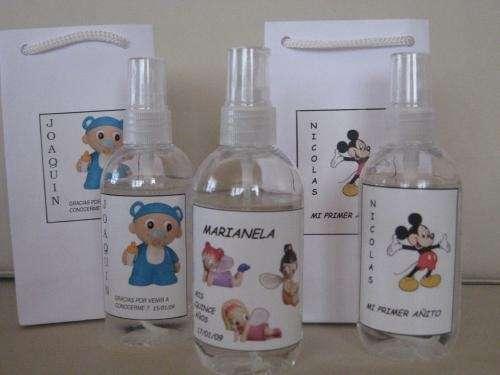 Souvenirs perfumes personalizados