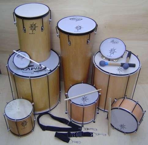 instrumentos de percusion-batucada a pedido!!