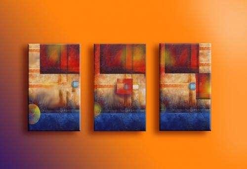 Tripticos oleos modernos imagui for Imagenes cuadros modernos