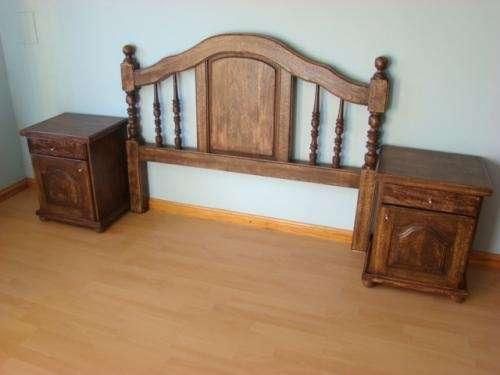 Fotos de juego de dormitorio 2 plazas nuevo roble maziso for Muebles usados en cordoba