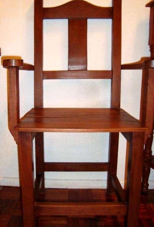 fotos de algarrobo combo silla apoyabrazos mesa y