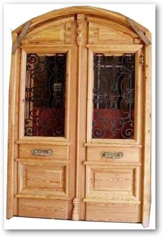 Fotos de fabrica de puertas de calle de madera pinotea for Fabrica de puertas