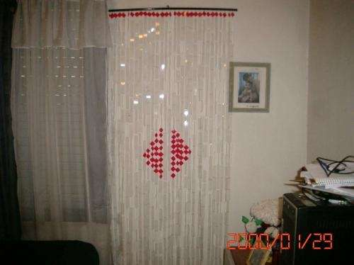 Fotos de cortinas artesanales separadores de hambientes  Capital