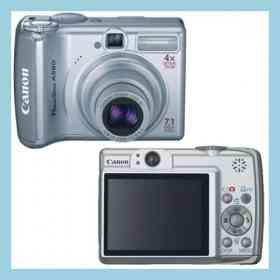 Fotos de cámara digital Canon PowerShot A560