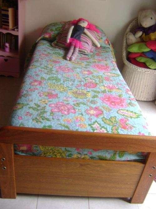 Fotos de cama 1 plaza madera roble perfecto estado for Sofa cama de una plaza y media