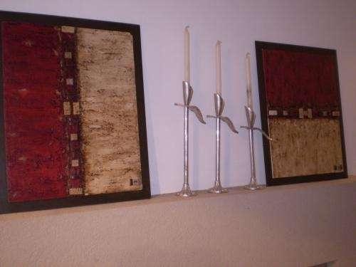 Fotos de vendo cuadros modernos abstractos con incluciones for Fotos cuadros abstractos modernos