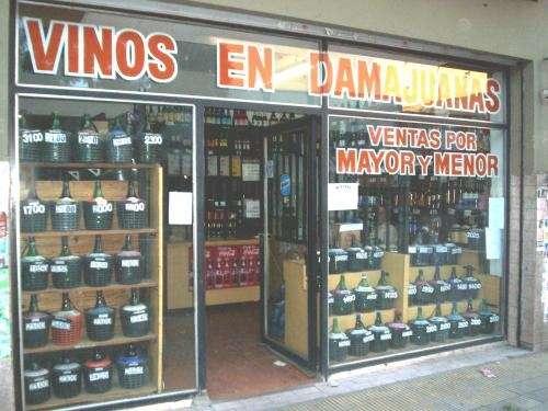 vinos en damajuanas