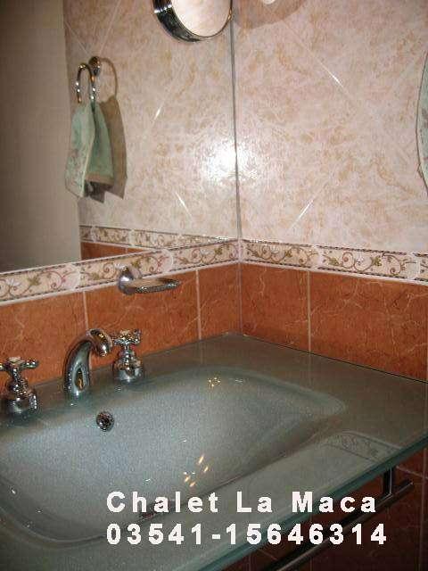 Alquilo comodo chalet c pileta,aire acondc,mts lago z Villa Carlos Paz