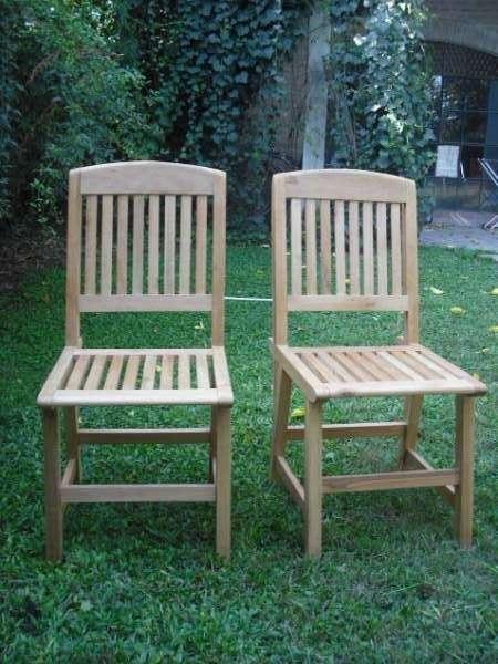 Fotos de sillas de comedor diario en madera de eucaliptus for Sillas para comedor diario