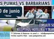 LOS PUMAS VS. BARBARIANS EN BUENOS AIRES - 20 DE JUNIO 2009
