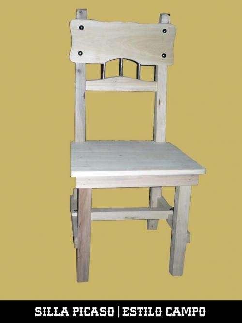 Fotos de silla picaso silla estilo campo el establo for Muebles estilo industrial buenos aires