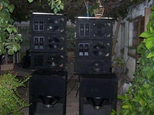 Vendo o permuto equipo de sonido e iluminación