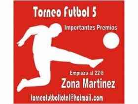 Fotos de Torneo Futbol 5 Zona Norte