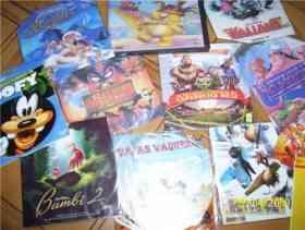 Fotos de liquido 12 peliculas infantiles varios titulos vcd (cd) $50
