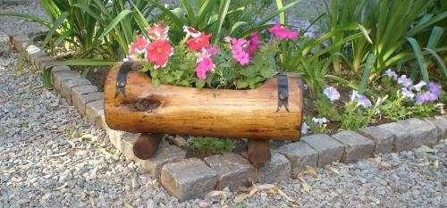Fotos de jardineras macetas de tronco buenos aires - Jardineras con bambu ...