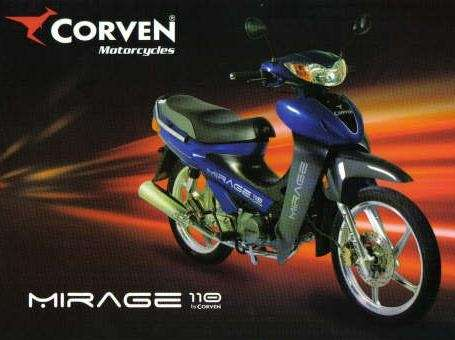 MOTO CORVEN MIRAGE 110 CC SUERP PROMOCION ......