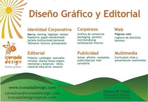 Fotos de dise o gr fico editorial y publicitario buenos for Diseno grafico editorial