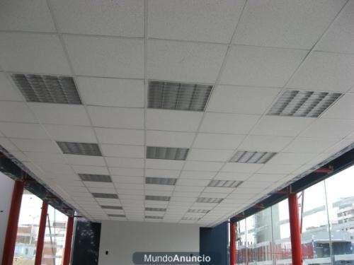 Cielo rasos de policarbonato en comercios imagui for Fotos de cielos falsos de tabla yeso
