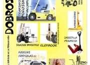Autoelevador, volcador, tractor, pala cargadora, elevador