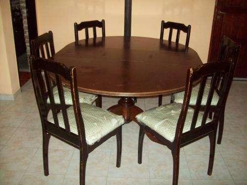 Sillas estilo colonial sillas estilo colonial cuero y - Sillas estilo colonial ...