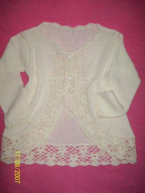 Ropita tejidas para bebé - Imagui