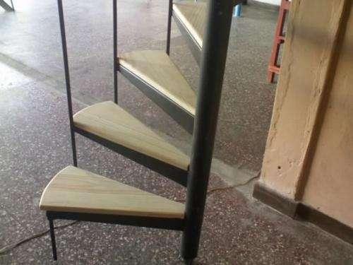 escaleras caracol con