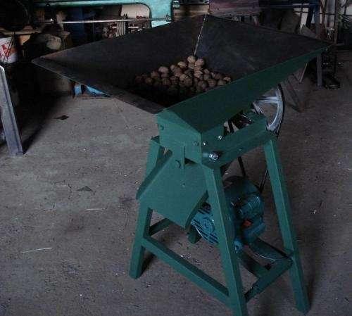Nueces máquina cascadora peladora