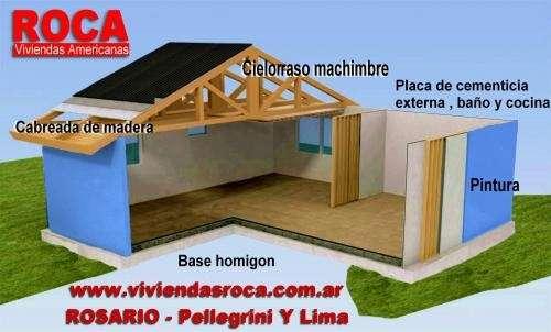 Casas prefabricadas madera casa roca prefabricadas for Viviendas industrializadas precios