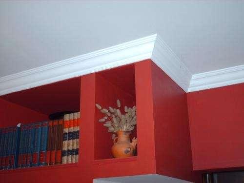 Pin molduras decorativas anime yeso para cuarto hogar genuardis portal on pinterest - Molduras decorativas pared ...