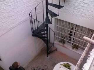 escaleras caracol metalica oferta en la matanza decoracin y jardn