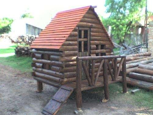 Cabanas para ninos dise os arquitect nicos for Cabanas infantiles en madera