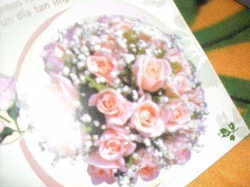 Flores en goma eva ,suvenir