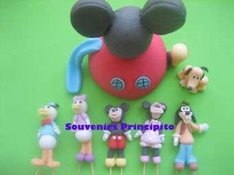 Fotos de Porcelana fria souvenirs-adornos para tortas 4