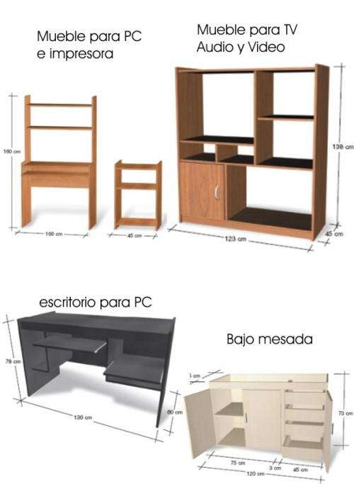 muebles de oficina en necochea 20170731214400