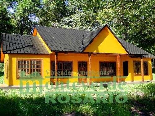 Casa / viviendas prefabricadas monteverde (rosario)