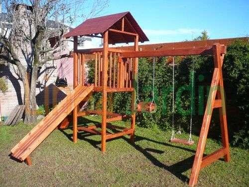 Casitas Nios Jardin. Parque Infantil Toboganes Columpios Casitas ...