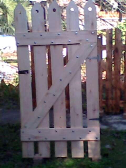 Puertas de madera para jardin with puertas de madera para - Puertas de madera para jardin ...