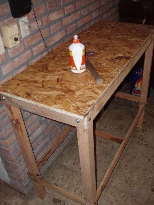 Madera para banco de trabajo mesa para la cama for Madera para mesa de trabajo