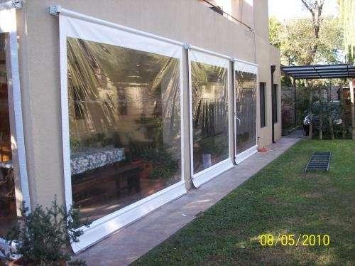 Toldos cortina for Toldos de balcon