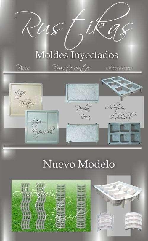 Moldes para pisos y revestimientos youtube tattoo design - Moldes piedra artificial ...