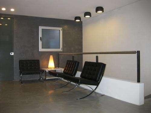 Fotos ba os microcemento alisado - Pintura para pisos de cemento ...