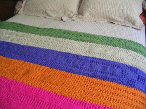 Mantas tejidas crochet imagui - Mantas a crochet ...